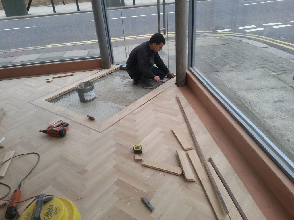 Laying Parquet Flooring