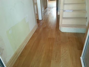 Installation Solid Oak