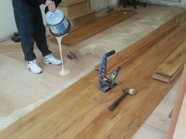 Solid Hardwood Installation Wood Fitting
