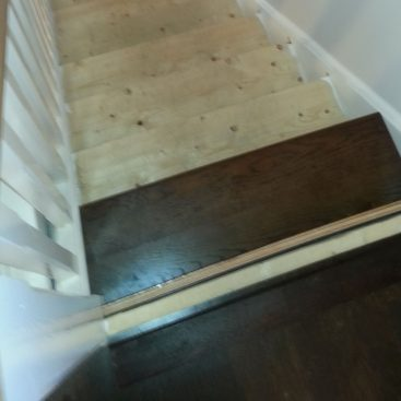 Engineered Oak & Steps