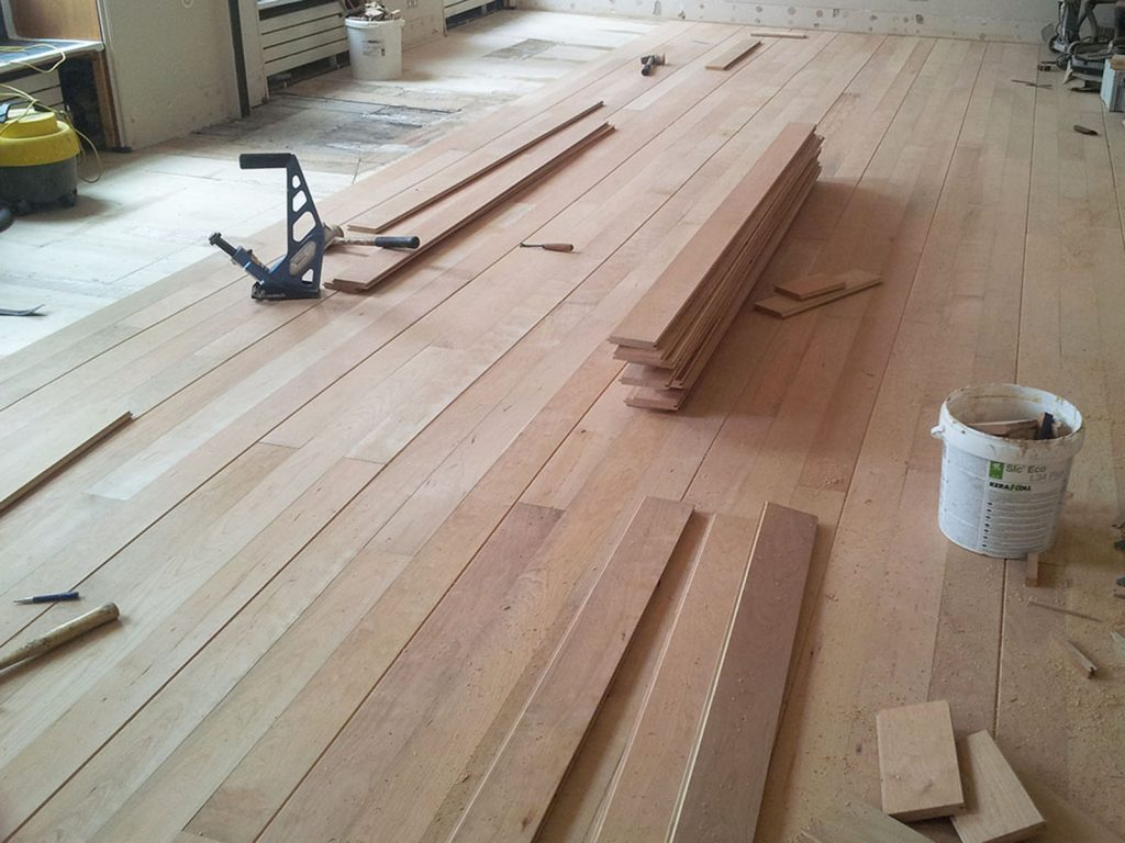 Solid Cherry Flooring