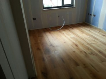 Installation Engineered Oak