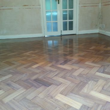 Walnut Parquet Renovation