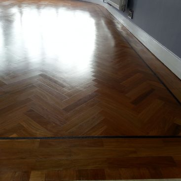 Oak Herringbone Renovation
