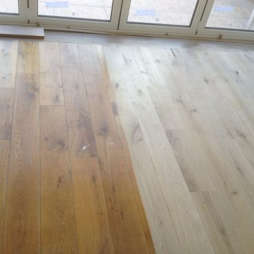 Oak Flooring Renovation