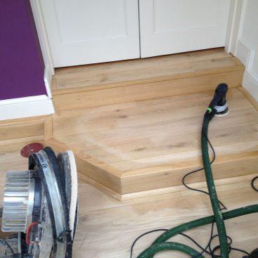 Sanding Oak Flooring