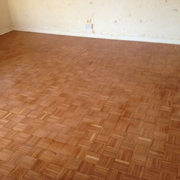 Finger Parquet restoration